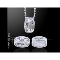 Το Δαχτυλίδι του Αρχαγγέλου Μιχαήλ Για Προστασία εναντίον του Κακού 925°