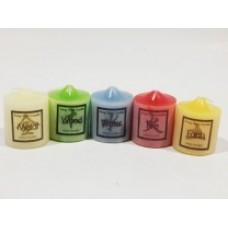 Ενεργειακά Κεριά με τα 5 στοιχεία του Feng Shui